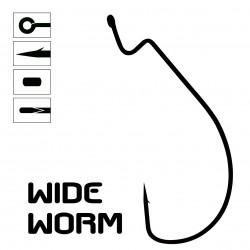 WIDE WORM Hook - Bag of 10