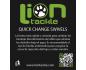 Quick Change Swivels (Enganche Rápido) - 10 Und.