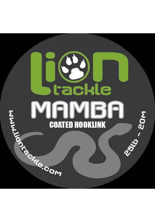 Coated Hooklink Mamba - 25Lb - 20m