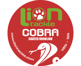 Coated Hooklink Cobra - 45Lb - 10m