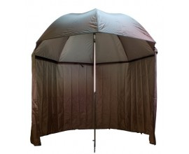 Umbrella with side wall