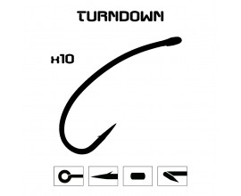 TurnDown Hook. Bag of 10
